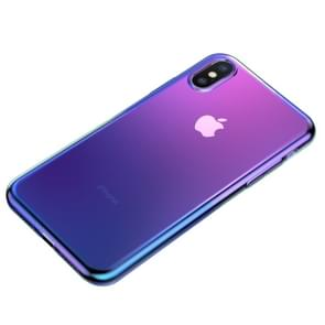 Baseus Glow Two Color-changing Electroplating TPU Case for iPhone XS Max