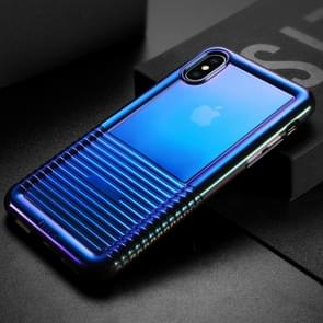 Baseus Colorful Airbag Shockproof TPU Case for iPhone XS Max(Black)