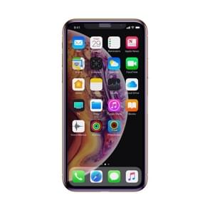 Baseus 0,3 mm volledige scherm gebogen rand Anti Blue-ray cellulaire stof Tempered glas Film voor iPhone XS Max