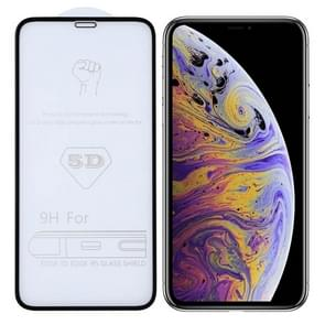 9H 5D Full Glue Full Screen Tempered Glass Film for iPhone XS Max/XSI Max (2019)
