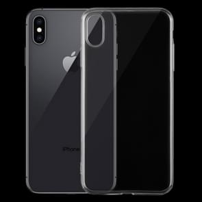 0 75 mm TPU ultra-dunne transparante Case voor iPhone XS Max