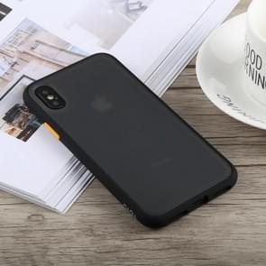 TOTUDESIGN Gingle Series Shockproof TPU+PC Case for iPhone XS Max (Black)