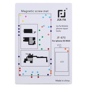 JIAFA JF-870 magnetische pad schroef Board voor iPhone XS Max