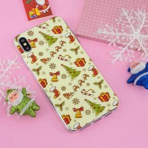 Kerst serie TPU Case voor iPhone XS Max