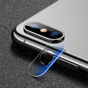 mocolo 0.15mm 9H 2.5D Round Edge Rear Camera Lens Tempered Glass Film for iPhone XS Max (Transparent)