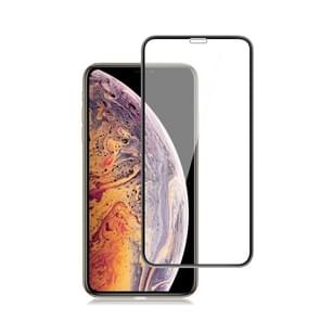 mocolo 0.33mm 9H 3D Round Edge Tempered Glass Film for iPhone XS Max (Black)