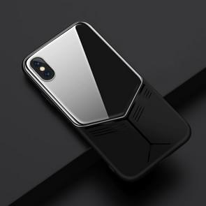 JOYROOM Curved Series Shockproof Full Protective Curved Glass TPU + PC Case for iPhone XS Max (Black)
