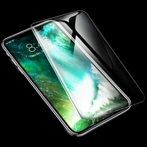 ROCK 0.26mm 9H 6D Curved Surface HD Full Screen Tempered Glass Film for iPhone 11 / XR(Transparent)