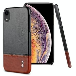 IMAK Ruiyi Series Concise Slim PU + PC Protective Case for iPhone XR