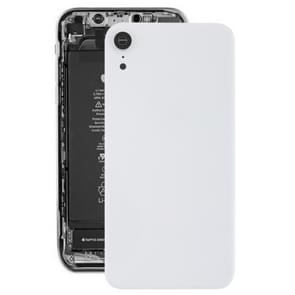 Battery Back Cover with Back Camera Bezel & Lens & Adhesive  for iPhone XR(White)