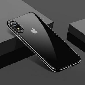 USAMS TPU + PC Protective Back Case for iPhone XR(Black)
