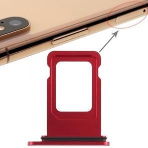 Dubbele simkaartlade voor iPhone XR (dubbele simkaart)(rood)