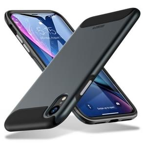 ESR Rambler Series TPU + PC Tough Shockproof Case for iPhone XR(Black)
