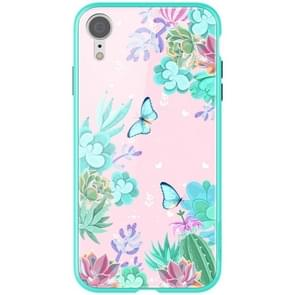 NILLKIN Butterfly Pattern Glass Protection Case for iPhone XR