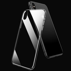 USAMS US-BH465 Glass + TPU Case for iPhone XR (Transparent)