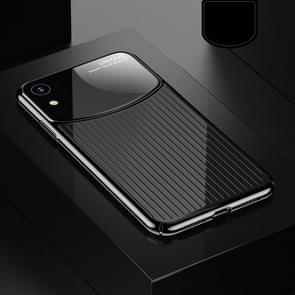 USAMS US-BH462 Electroplating PC Case for iPhone XR (Black)