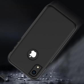 3 in 1 effen kleur combinatie Case voor iPhone XR