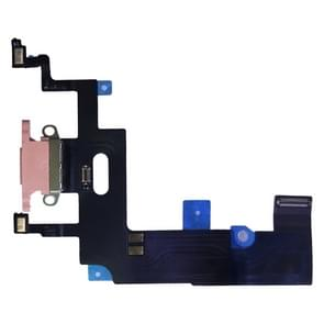 Charging Port Flex Cable for iPhone XR (Pink)