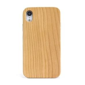 Shockproof TPU+ Wood Full Protective Case for iPhone XR