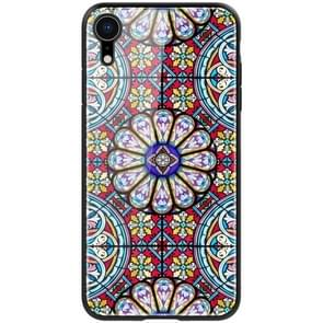 NILLKIN Exquisite Art Pattern Tempered Glass Case for iPhone XR