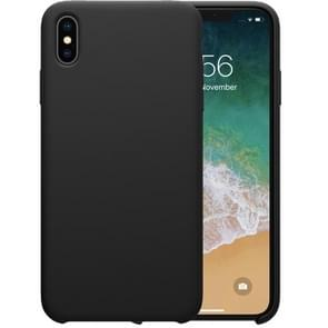 NILLKIN Liquid Silicone Shockproof Soft Case for iPhone XR (Black)