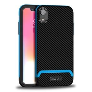 IPAKY Bumblebee Fashion Design TPU + PC Protective Case for iPhone XR (Blue)
