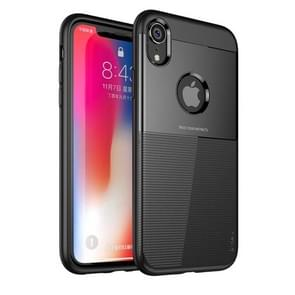 IPAKY Droppoof TPU + PC Protective Case for iPhone XR (Black)