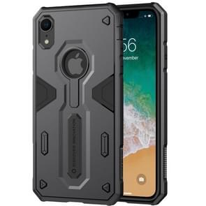 NILLKIN Tough Defener II Case Shockproof TPU + PC Case for iPhone XR (Black)
