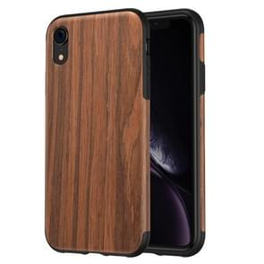 ROCK Rosewood Wood Texture TPU Case for iPhone XR