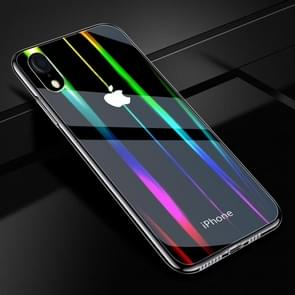 Twilight Transparent Glass Case for iPhone XR