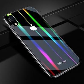 Twilight transparant glas Case voor iPhone XR
