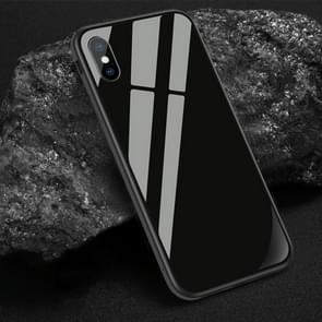 SULADA Shockproof Aviation Aluminum Metal Frame + Nano Glass + TPU Case for iPhone XR(Black)