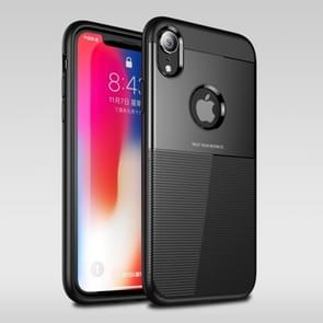 UNBREANK PC + TPU Invisible Airbag Shockproof Protective Case for iPhone XR (Black)