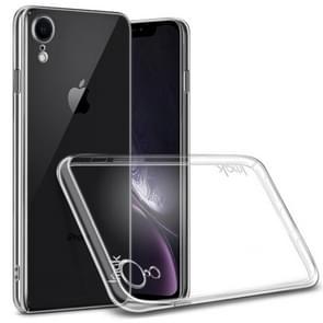 IMAK Wing II slijtage-weerstand te bieden aan Crystal Pro beschermende Case voor iPhone XR  met scherm Sticker(Transparent)