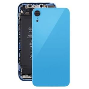 Achtercover met lijm voor iPhone XR (blauw)