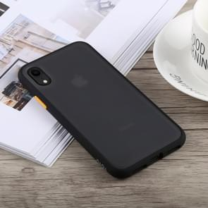 TOTUDESIGN Gingle Series Shockproof TPU+PC Case for iPhone XR (Black)