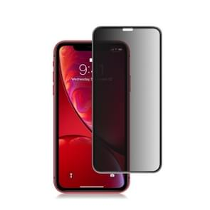 mocolo 0.33mm 9H 3D Round Edge Privacy Anti-glare Tempered Glass Film for iPhone XR (Black)