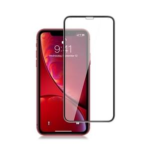 mocolo 0.33mm 9H 3D Round Edge Tempered Glass Film for iPhone XR (Black)