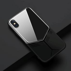 JOYROOM Curved Series Shockproof Full Protective Curved Glass TPU + PC Case for iPhone XR (Black)
