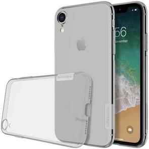 NILLKIN natuur TPU transparante softcase voor iPhone XR 6.1 inch(Grey)