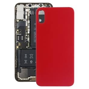 Battery Back Cover with Adhesive for iPhone X / XS(Red)