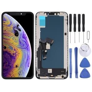 incell TFT Material LCD-scherm en Digitizer Full Assembly voor iPhone XS (Zwart)