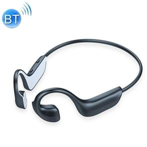 G100 Bluetooth 5.0 Wireless Ear-mounted Sports Waterproof Bone Conduction Earphone (Zwart)