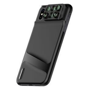 Mobile Phone Lens Wide Angle Fisheye Macro Telephoto SLR Phone Case for iPhone XS