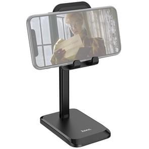 Hoco PH27 Stable Telescopische Desktop Stand voor 4 7-10 inch Telefoon & Tablet(Zwart)