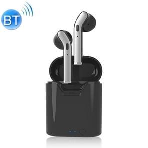 H17T TWS Bluetooth 5 0 super Far verbinding afstand draadloze Bluetooth oortelefoon met magnetische Oplaaddoos  ondersteuning IOS Power display & geheugen matching Bluetooth & HD Call (zwart)