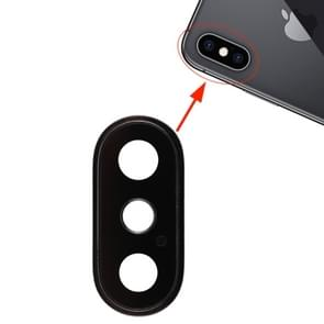 Back Camera Bezel with Lens Cover for iPhone XS / XS Max (Black)