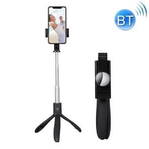 Mai Appearance K06 Multi-function Live Broadcast Mobile Bluetooth Self-timer Pole Tripod (Black)
