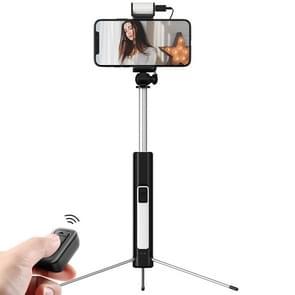 Benks Z07 Portable Foldable Tripod Selfie Stick with Tripod, Retractable Length: 195mm-825mm(Black)