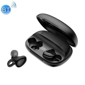 JOYROOM JR-TL2 Bluetooth 5.0 Bilateral TWS Wireless Earphone with Digital Display (Black)